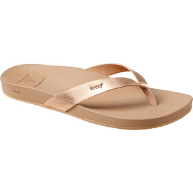 Reef Cushion Bounce Court Flip-flopit Naiset, rose gold